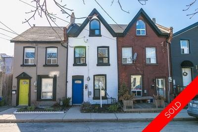Hamilton Attached Row for sale:  3 bedroom  (Listed 2018-05-02)