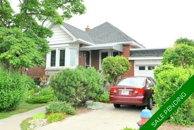 Hamilton Detached Bungalow for sale:  2+1  (Listed 2019-07-23)